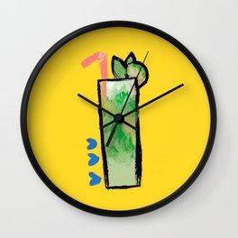 Miami Mojito Wall Clock