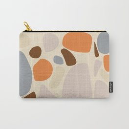 Blobs Retro Print Carry-All Pouch