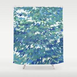Clearwater II Juul Art Shower Curtain