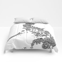 Paranormal Philippines (white) Comforters