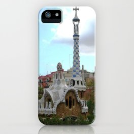 Barcelona, Spain. Parque Guell. iPhone Case