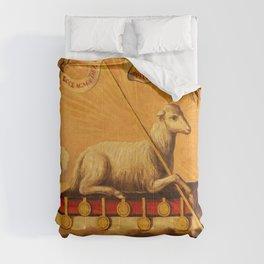 Lamb of God, Agnus Dei by Jose Campeche y Jordan Comforters