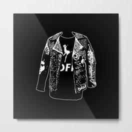 Danse Farm Radio Logo Too Metal Print