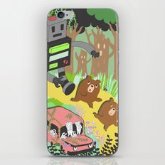 Run Run Run iPhone Skin