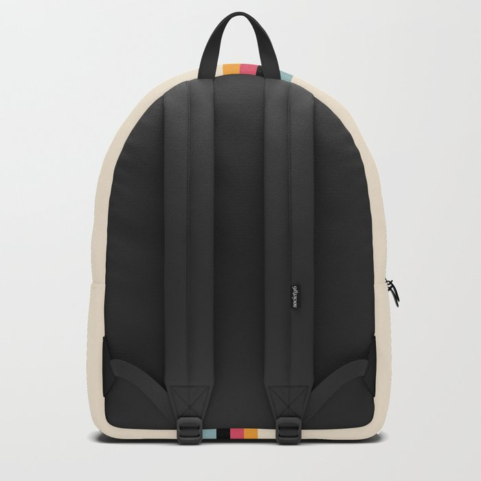 Ishtar - Classic Retro Summer Stripes Backpack
