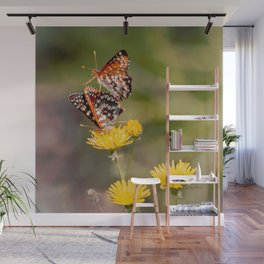 Butterfly Acrobats Wall Mural