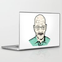 walter white Laptop & iPad Skins featuring Walter White by Stella Vee
