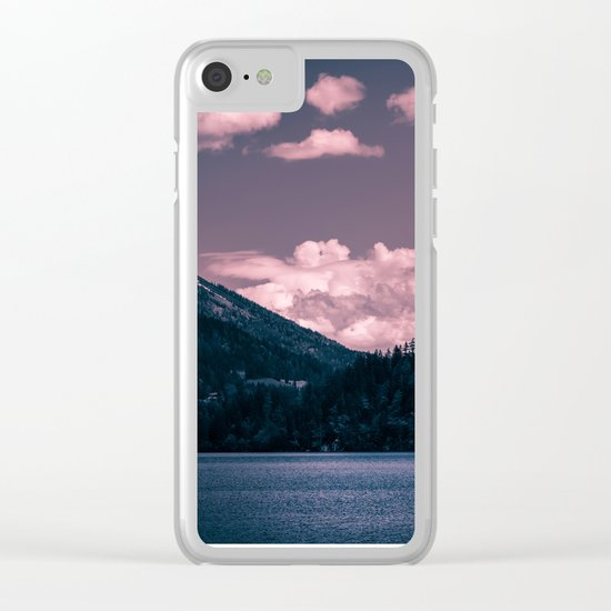 Thoughts Awakening Clear iPhone Case