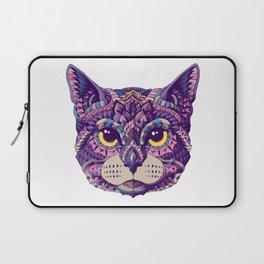 Cat Head (Color Version) Laptop Sleeve