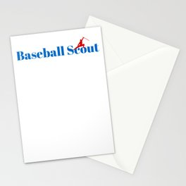 Top Baseball Scout Stationery Cards