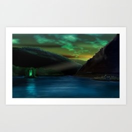 Romantic Rhine Art Print