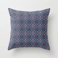 geo Throw Pillows featuring GEO  by NENE W