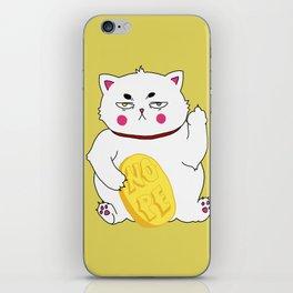 Maneki-nope iPhone Skin