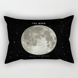 The Moon  Rectangular Pillow