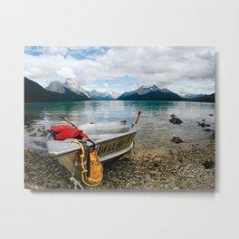 Maligne Lake Metal Print