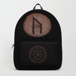 Uruz Elder Futhark Rune determination, persistence, freedom, courage, will, territoriality Backpack