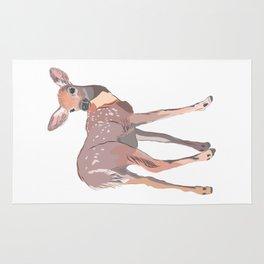 Baby Deer Art Rug