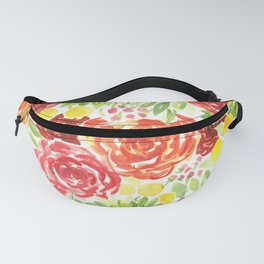Flower Explosion Fanny Pack