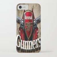 arsenal iPhone & iPod Cases featuring ARSENAL by Acus