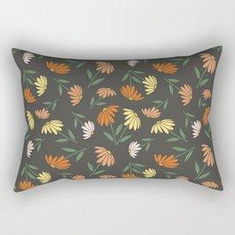 Garden Flowers Style C Rectangular Pillow