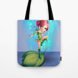 leafgirl Tote Bag