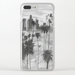 L.A. City Clear iPhone Case