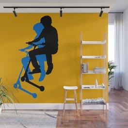Landing Gears - Stunt Scooter Rider Wall Mural