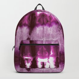 Boho Beet Shibori Backpack