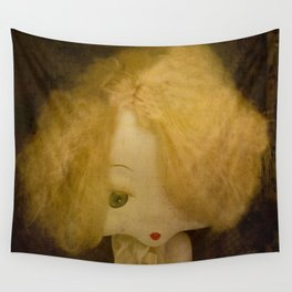 Vintage Doll Wall Tapestry