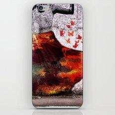 Flying Skirt iPhone & iPod Skin