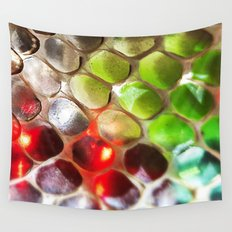 Snakeskin & Beads Wall Tapestry
