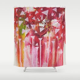 Colour Shower Curtain
