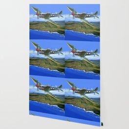 Spitfire Soars Over Hawaii Wallpaper