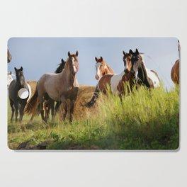 The Wild Bunch-Horses Cutting Board