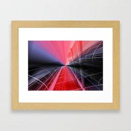 skyscraper dreamscape Framed Art Print