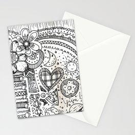 doodles by beccasartsycorner Stationery Cards