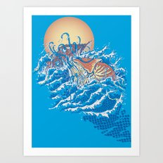 The Lost Adventures of Captain Nemo Art Print