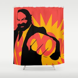 Bud Spencer - Boom Shower Curtain
