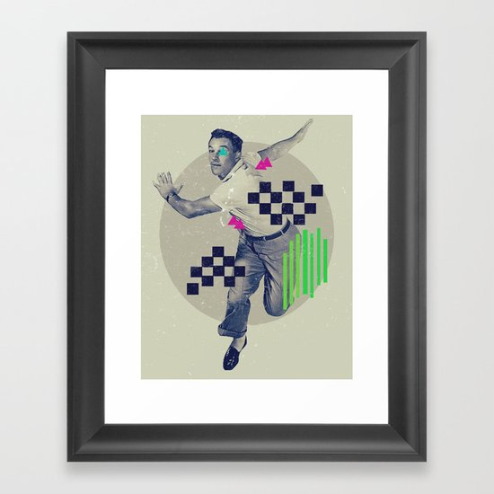LXVI Framed Art Print