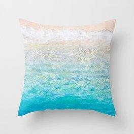Life's a Beach... Throw Pillow