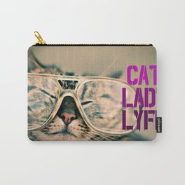 Cat Lady Lyfe Carry-All Pouch