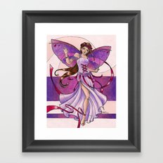 Paige Framed Art Print