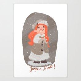 Christmas!!! Art Print