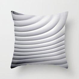 Soundwaves Throw Pillow