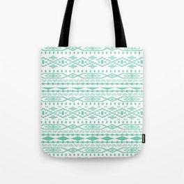 Aztec Lucite Green Tote Bag