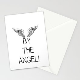 By the Angel! Stationery Cards