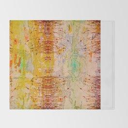Organic Pattern Throw Blanket
