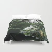 plants Duvet Covers featuring Plants by Cynthia del Rio
