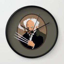 Hegel is a pussy Wall Clock