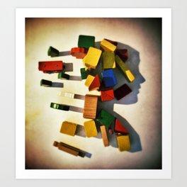 Ombre #1 Art Print